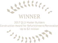 2017 Qld Master Builders Refurbishment / Renovation up to $2 million